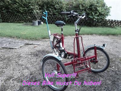 Hipster Dreirad Draisin Shopi Individuell und schoen Kultbike mit Swag Hoya