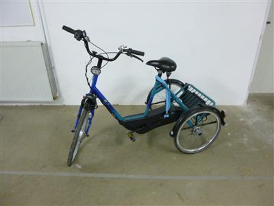Huka ATD Therapeutischen elektro Dreirad mit Nabengaenge und neuen Akku s Gronau