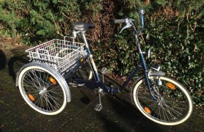 KYNAST Dreirad fuer Erwachsene 24 Seniorenrad blau Top Zustand Hanau