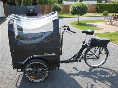 lastenfahrrad e bike kinder transportrad fano tec oberhausen archiv verkaufter gebrauchter. Black Bedroom Furniture Sets. Home Design Ideas