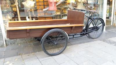 Lastenfahrrad Transportfahrrad Baeckerrad Bakfiets Transport Fahrrad ca 195  Koeln