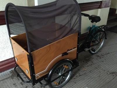 Lastenrad Dreirad Transportrad von Fano Tec Berlin