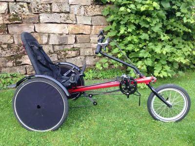Liegedreirad Liegerad Hase Bikes Trets Trike Therapierad Reha Hilfsmittel Bad Driburg