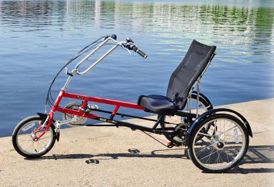 Liegerad Sesselrad Dreirad STABIL 21 Gang bis 15 Kg belastbar Vorfuehrrad wieNEU Hamburg