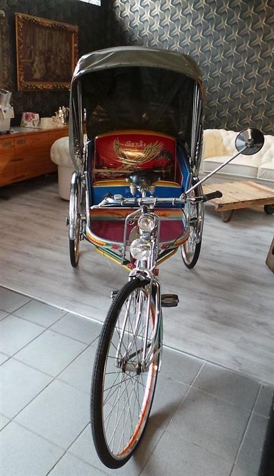 Original Fahrrad Rikscha aus Asien Raritaet  Hannover