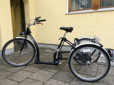 Pfau Tec Classic Dreirad Einkaufsrad wie Neu nur Probefahrt Muenchen
