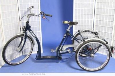 Pfau Tec Elegance Dreirad fuer Erwachsene 3 Rad Fahrrad Leupoldsgruen