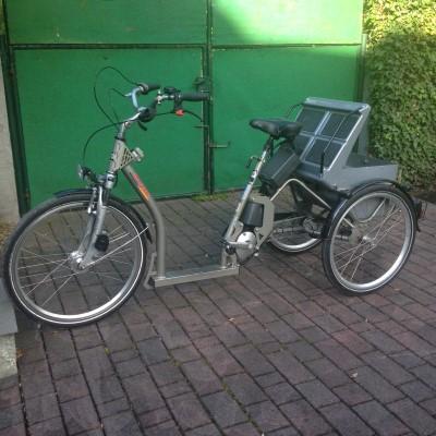 pfau tec grazia e bike dreirad mit mittelmotor archiv. Black Bedroom Furniture Sets. Home Design Ideas