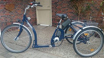 Pfau Tec Merano Fahrad E Bike fuer Seniorenfahrad Dreirad fuer Erwaschsene Hollen