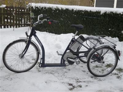 PFAU TEC Therapeutisches Elektrorad Dreirad Merano behindertengerechtes Fahrrad Barbing
