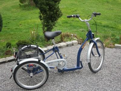 Pfautec Mobile Shopping Fahrrad Dreirad fuer Erwachsene und Kinder Bad Aibling