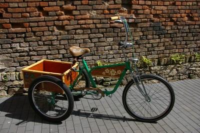 dreirad fahrrad seniorenrad umbau chopper cruiser backyard kustoms