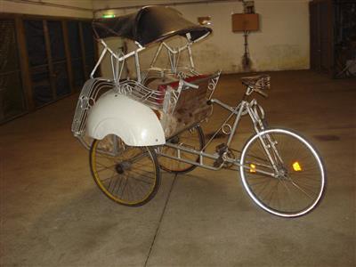 Rikscha Fahrrad Dreirad Personenrad Oldtimer Bonn