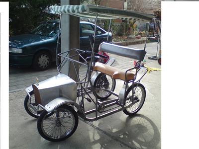 rikscha lastenradrad spassmobil malorcamobil trike fahrrad. Black Bedroom Furniture Sets. Home Design Ideas