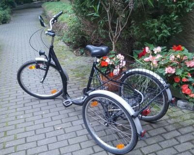Ruhrwerk City Dreirad 24 26 Zoll 3 Gang mit grossem Transportkorb Nuernberg
