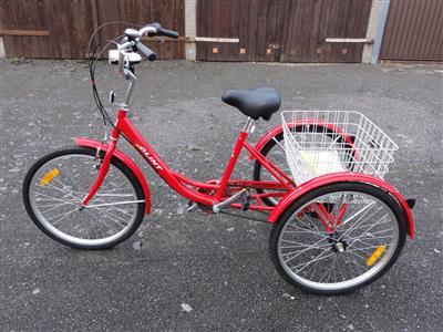 Senioren Dreirad Fahrrad mit 3 Raedern 6 Gangschaltung Shimano Seniorenrad
