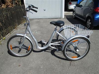 Senioren Dreirad Terrabikes 24 Zoll Aluminium Neuwertig 5 Meter gefahren Gilching