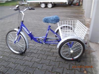senioren fahrrad atala dreirad kaum benutzt koeln archiv. Black Bedroom Furniture Sets. Home Design Ideas