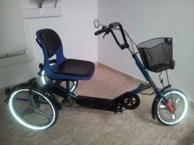 sitz dreirad behindertenfahrrad therapie dreirad disco 2. Black Bedroom Furniture Sets. Home Design Ideas