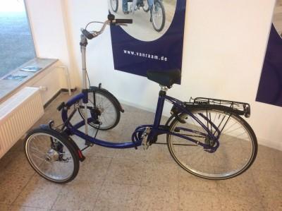 T Dreirad Modell Viktor von vanraam Ruecktrittnabe Hannover
