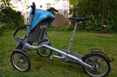 taga eltern kind fahrrad buggy stroller bike top erhalten. Black Bedroom Furniture Sets. Home Design Ideas