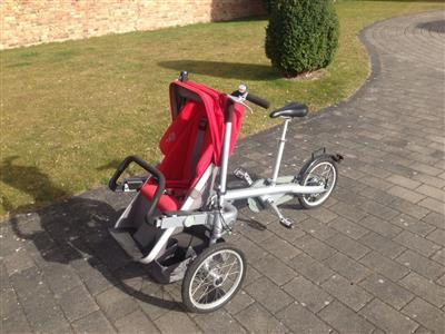 Taga Fahrrad mit Kindersitz Kinderwagen Berlin