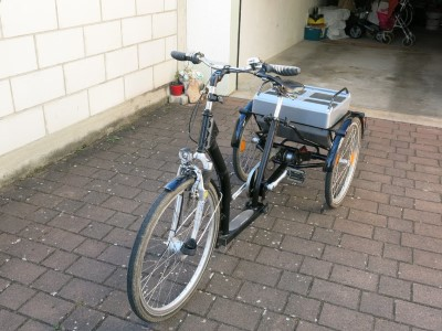 Therapeutisches Dreirad der Marke Kynast Trebur