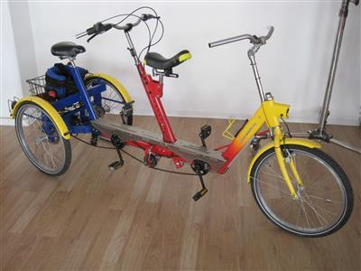 Therapeutisches Dreirad Tandem Draisin Capitaen Duo Bremen