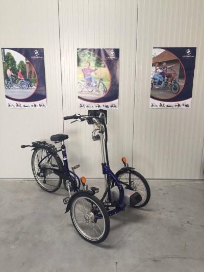 Therapeutisches Dreirad van Raam Viktor mit 25 Watt Heinzmann E Motor Top  Ahaus