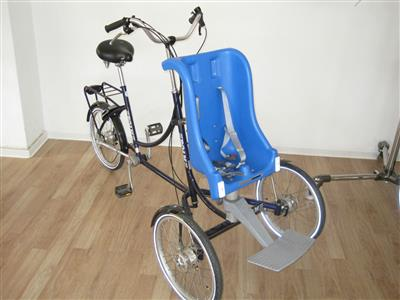 Therapeutisches Dreirad von ROAM Rider Plus mit Kindersitz Bremen