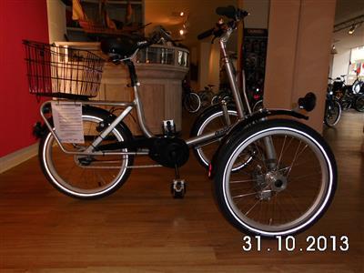 Therapeutisches Dreirad draisin Shopi Seniorenrad Bremen