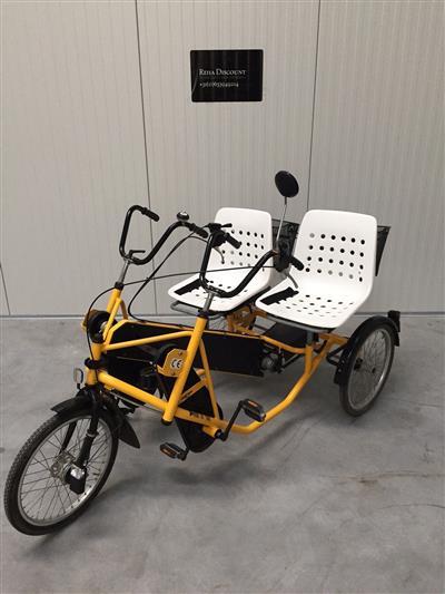 Therapeutisches Parallel Tandem Dreirad Trike Therapie Fahrrad 5 Nabengaenge TOP Ahaus