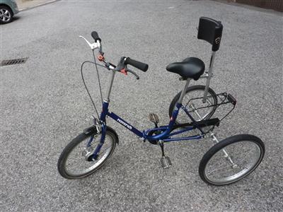 Therapierad Dreirad Haverich 24 2 blau guter zustand Hamburg