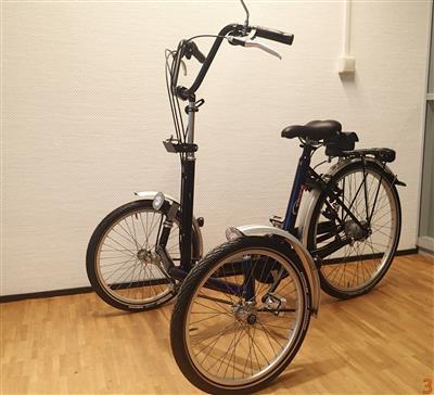 Trike therapeutisches Dreirad Front Dreirad Utrecht