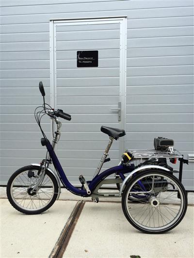 van Raam midi therapeutisches Dreirad Saxonette Spartamet Sachs Motor E Start Ahaus