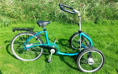 Van Raam Viktor therapeutisches Dreirad Trike Front Dreirad Utrecht