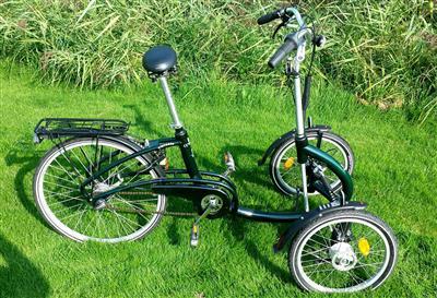Van Raam Viktoria therapeutisches Dreirad Trike Front Dreirad Utrecht
