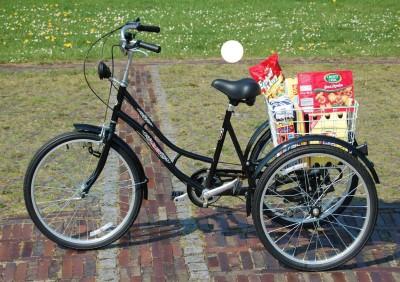 VELORY 24 Erwachsenen Dreirad Senioren Dreirad noch NEU und Originalverpackt Eversmeer
