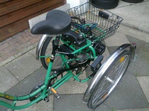 Dreirad_benzinmotor