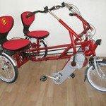 weitere Dreirad Tandem Modelle von verschiedenen Herstellern 2